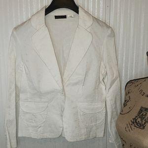 Area Women's White Blazer Jacket